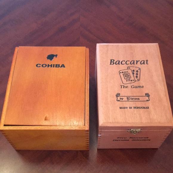Vintage Cohiba Cuban Cigar Boxes Empty New Nwt